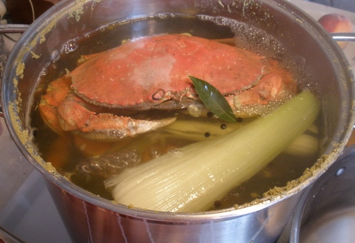 Crab in Pot